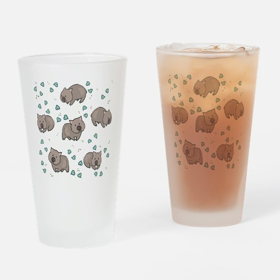 Wombat Drinking Glass