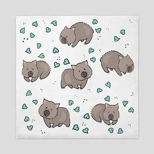 Wombat Queen Duvet