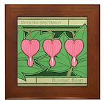 Bleeding Heart Framed Tile