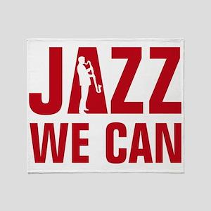 Jazz bass clarinet player Throw Blanket