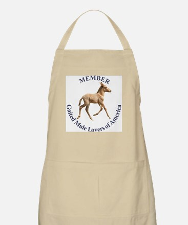 Gaited Mule Lovers of America BBQ Apron