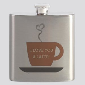 I Love you a Latte Flask