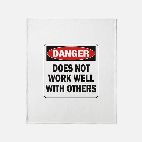 Work Well Throw Blanket