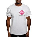 Marijuana Ash Grey T-Shirt