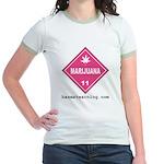 Marijuana Women's Ringer T-Shirt