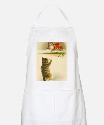 Cute Vintage Kittens Playing Apron