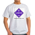 Liquor Ash Grey T-Shirt