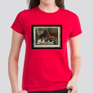 Antique Toy Spaniels Women's Dark T-Shirt
