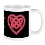 Celtic Knot - Hearts Beating As One Mug