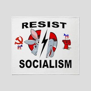 SOCIALISM Throw Blanket