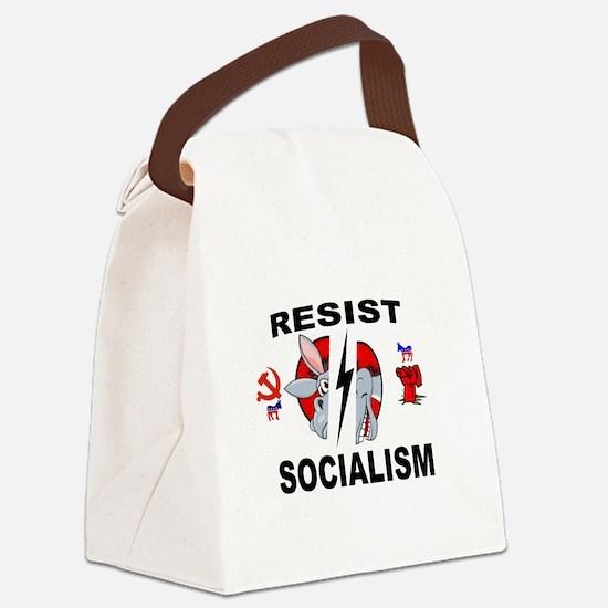 SOCIALISM Canvas Lunch Bag