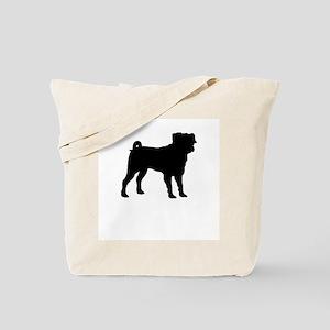 pug 1 Tote Bag
