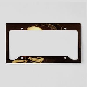 Anne Boleyn License Plate Holder
