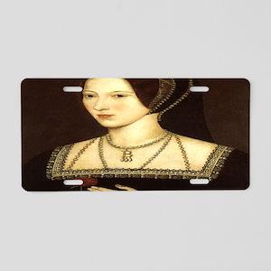 Anne Boleyn Aluminum License Plate