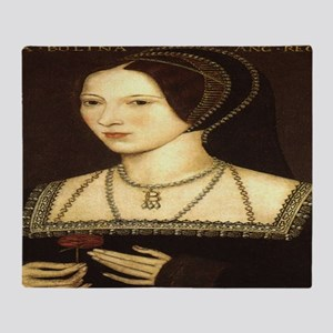 Anne Boleyn Throw Blanket