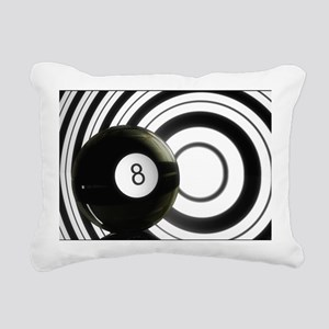Eightball Jazz Rectangular Canvas Pillow
