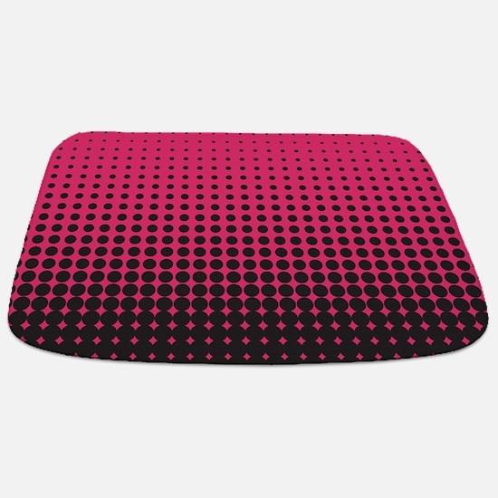 Halftone Dots Bathmat