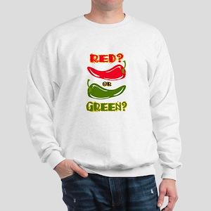 RED? OR GREEN? Sweatshirt