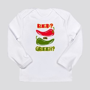 RED? OR GREEN? Long Sleeve Infant T-Shirt
