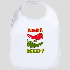 RED? OR GREEN? Bib