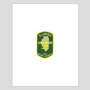 Illinois Game Warden Small Poster