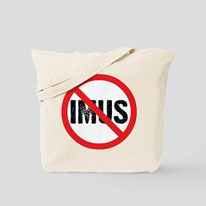 Circle Slash Imus Tote Bag