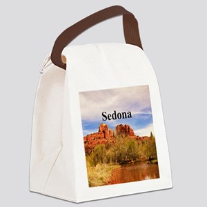 Sedona_6x6_v1_CathedralRock Canvas Lunch Bag