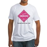 Heroin Fitted T-Shirt