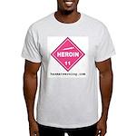 Heroin Ash Grey T-Shirt