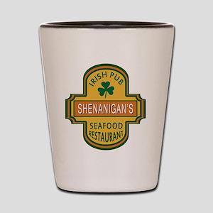 Customizable Irish Pub Shot Glass