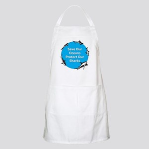 Save Our Oceans. Protect Our  BBQ Apron