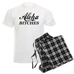 Aloha Bitches Funny Men's Light Pajamas