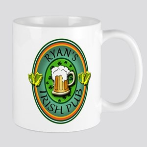 CUSTOM Irish Pub Sign Mug