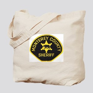 Monterey County Sheriff Tote Bag