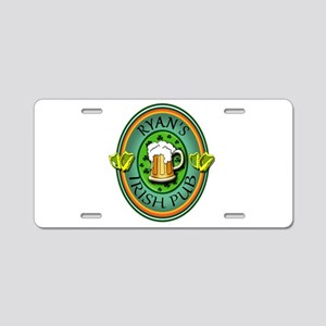 CUSTOM Irish Pub Sign Aluminum License Plate