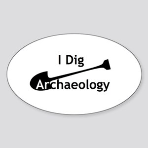 I Dig Archaeology Sticker