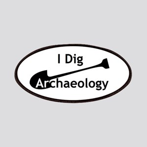 I Dig Archaeology Patches