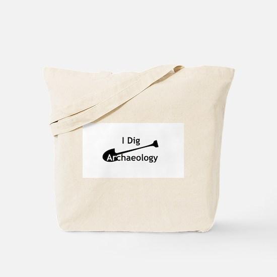 I Dig Archaeology Tote Bag