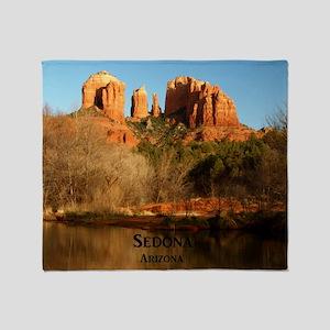 Sedona_11.5x11.5_CathedralRock Throw Blanket