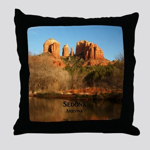 Sedona_11.5x11.5_CathedralRock Throw Pillow