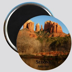 Sedona_11.5x11.5_CathedralRock Magnet