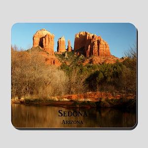 Sedona_11.5x11.5_CathedralRock Mousepad