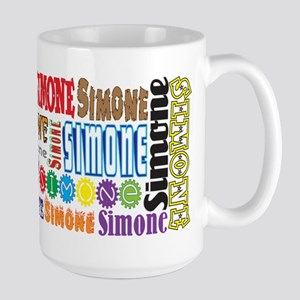 Simone 15 Oz Ceramic Large Mug Mugs