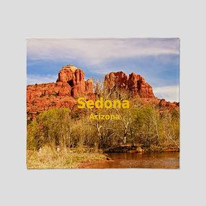 Sedona_8.56x7.91_GelMousepad_Cathedr Throw Blanket