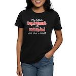 Hubby's Deployment Extended Women's Dark T-Shirt