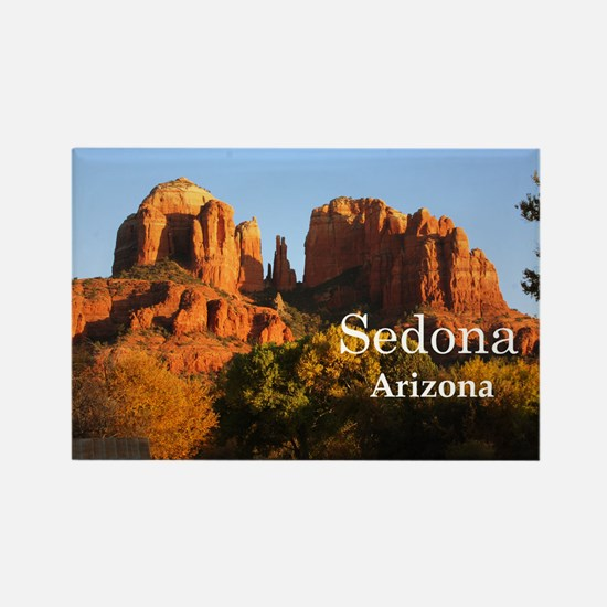 Sedona_12.2x6.64_CathedralRock Rectangle Magnet