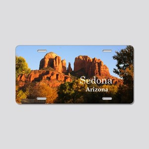Sedona_12.2x6.64_CathedralR Aluminum License Plate