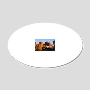 Sedona_12.2x6.64_CathedralRo 20x12 Oval Wall Decal