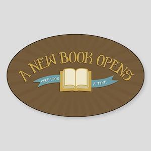 A New Book Opens OUAT Sticker