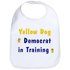 Yellow Dog Democrat in Training Bib